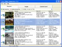 ALSoft Video Converter. MPEG to AVI, AVI to MPEG